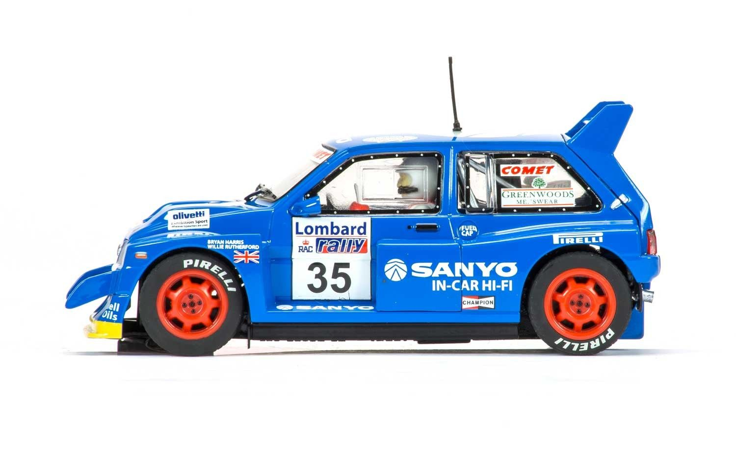C3639 MG Metro 6R4 No35 Willie Rutherford